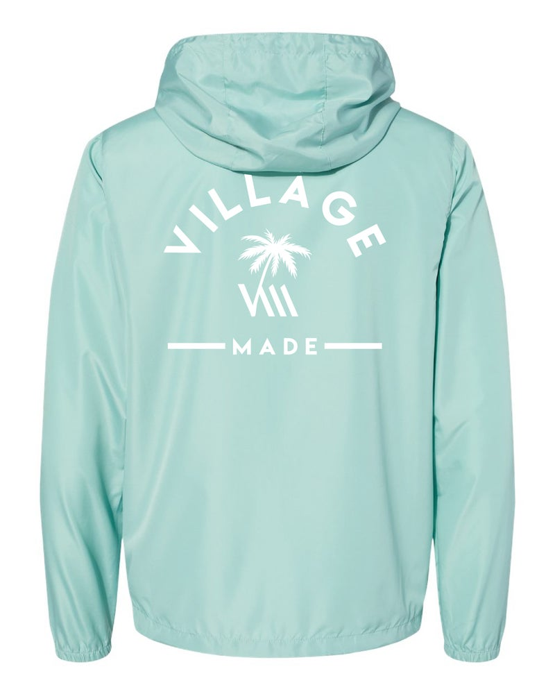 Image of VM Rise Windbreaker - Aqua