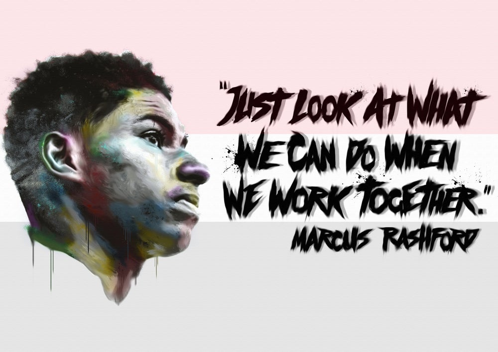 Image of Marcus Rashford (Limited Edition Print)