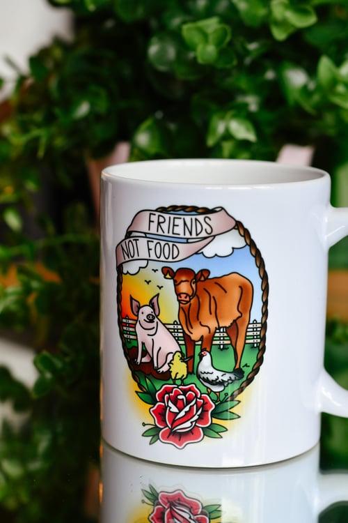 Image of Mug Friends Not Food