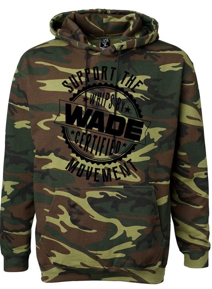 Image of Camo 2020 Support The Movement Hoodie : *PRE-ORDER* Black Print