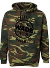 Camo Support The Movement Hoodie : *PRE-ORDER* Black Print