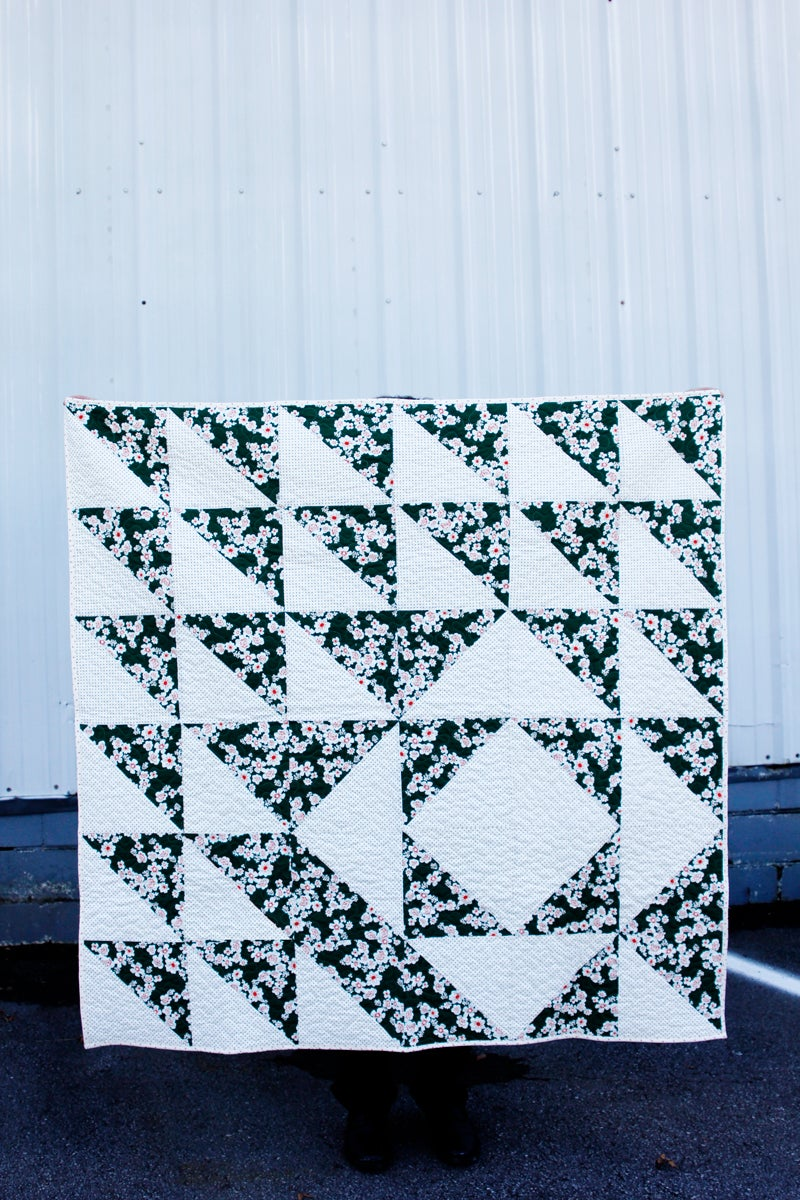 Image of the TWO HOUR HST QUILT PDF Pattern