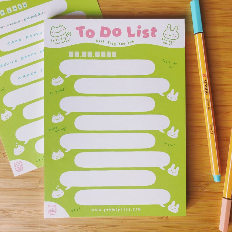 Image of TO DO LIST NOTEPAD