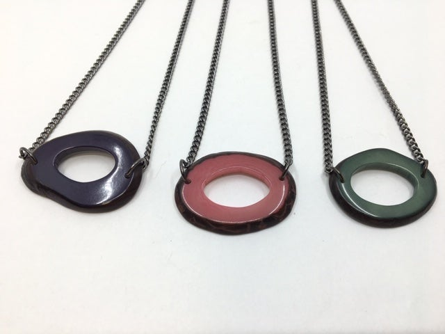 Tagua Necklaces by Veronica Riley Martens