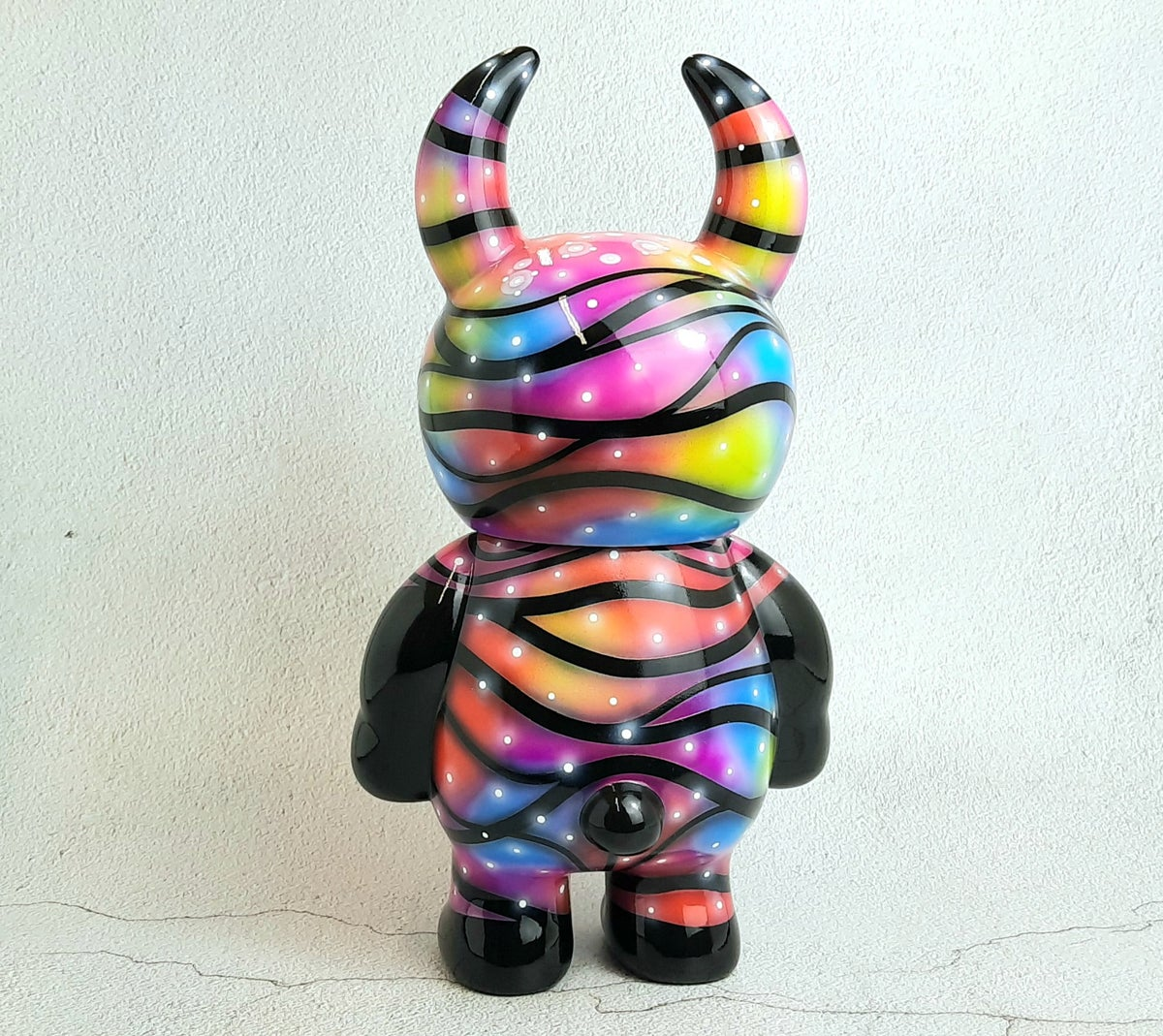 Image of Trippy Neon GaLaXy Super size Uamou One off custom
