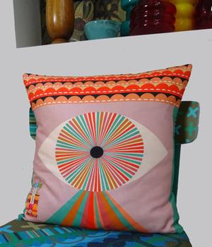 Image of NEW 'Eye Spy' Cushion