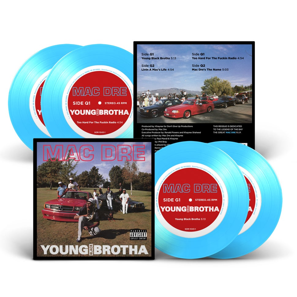 Image of Mac Dre - Young Black Brotha Vinyl 30th Anniversary!