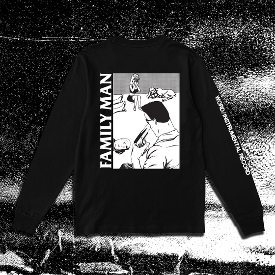 Image of Monochrome Family Man Long Sleeve