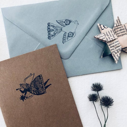 Image of Christmas Angel Stationery Bundle - Special offer