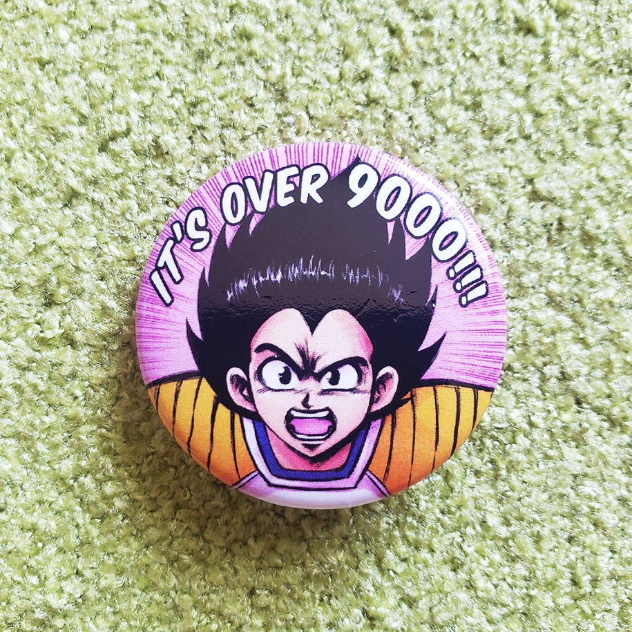 It's Over 9000 Button