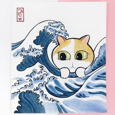 Image of The Great Wave Off Nekogawa