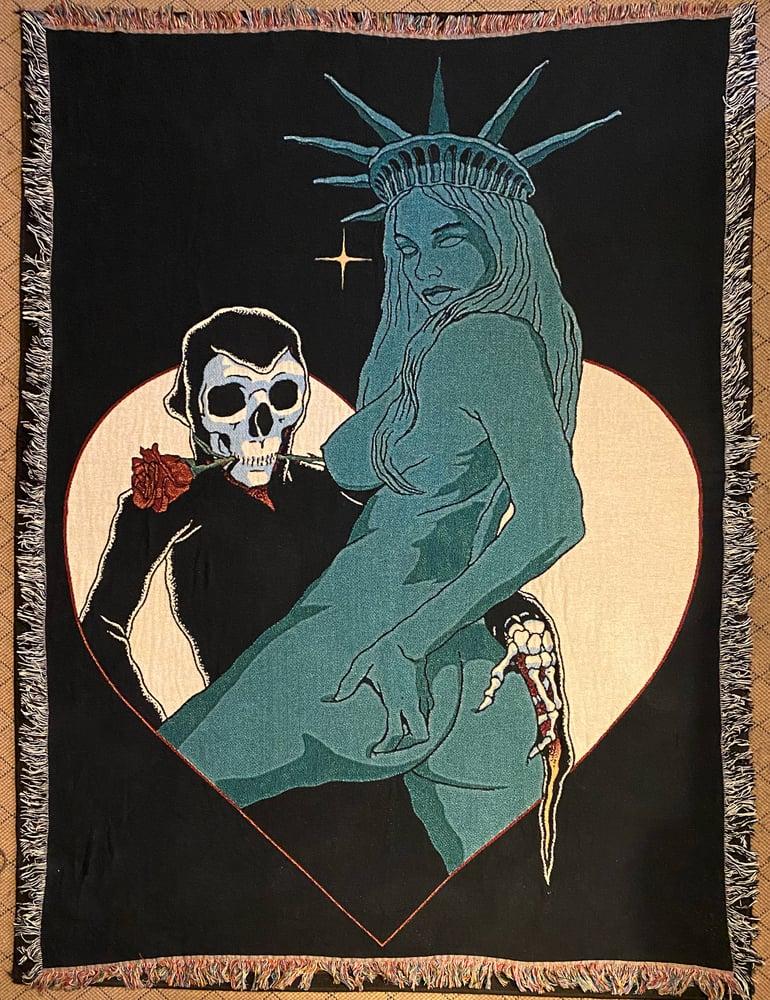 Image of NY NY Woven Blanket