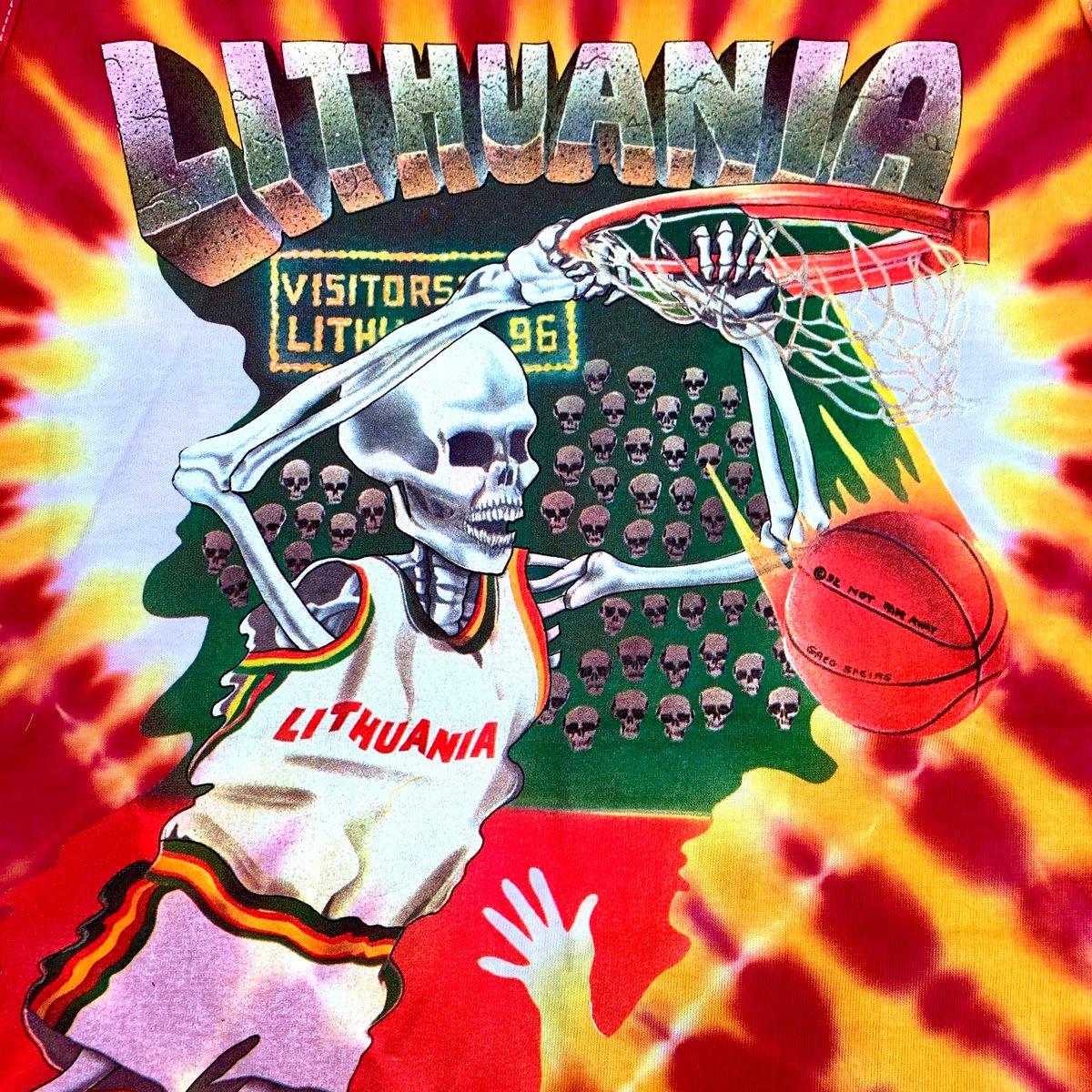 Original Vintage Grateful Dead 1992 Lithuania Tank Top!! X-Large