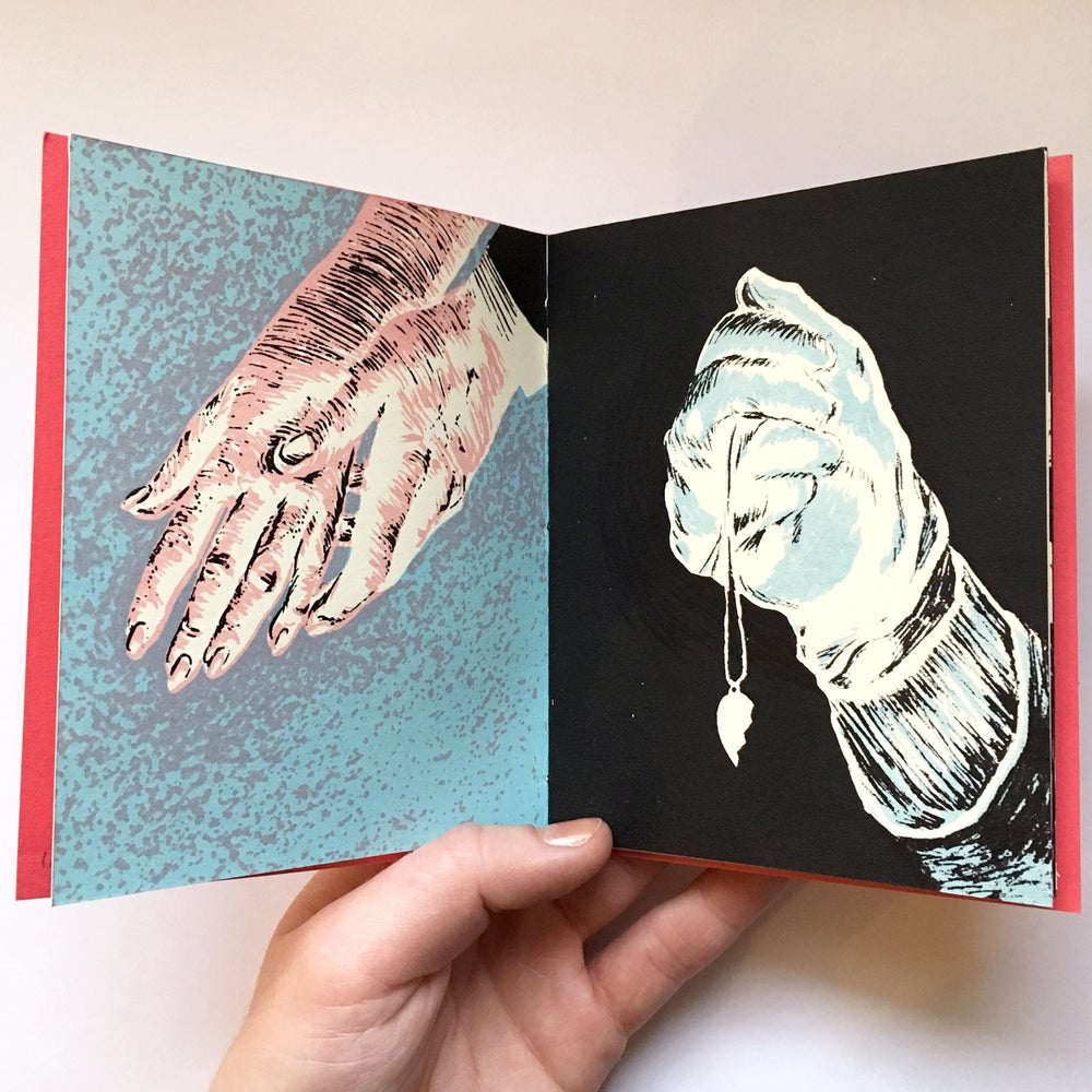 Image of Letterpress and screenprinted Twin Peaks inspired book - 8 Left!