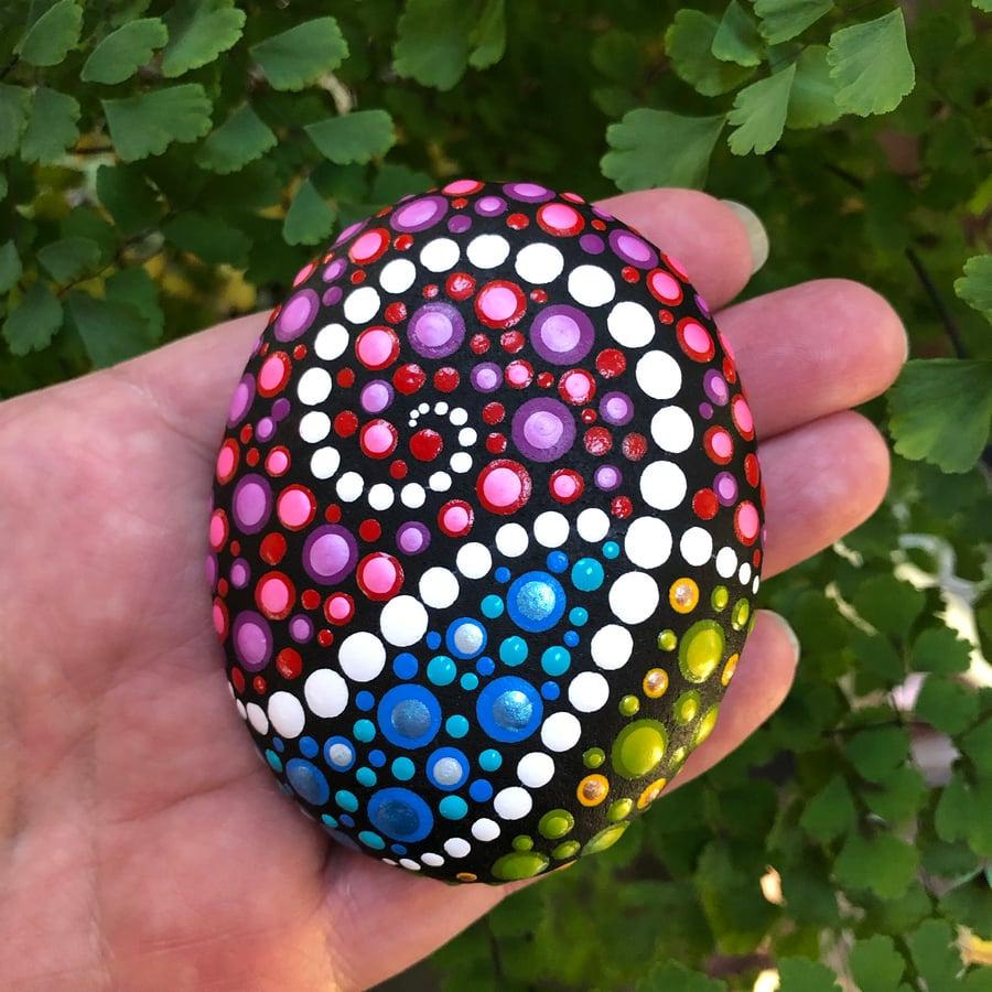 Image of Shimmering Tendrils Stone