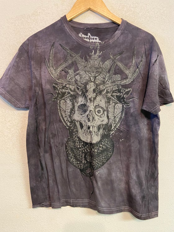 Image of Deep Purple Glow Skull