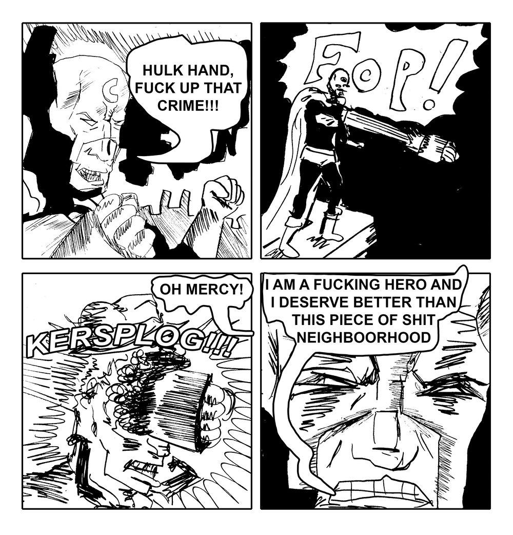 Crime-Killer Comic Compendium