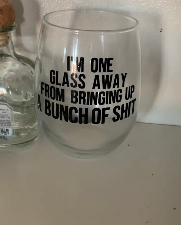 Image of One Glass Away