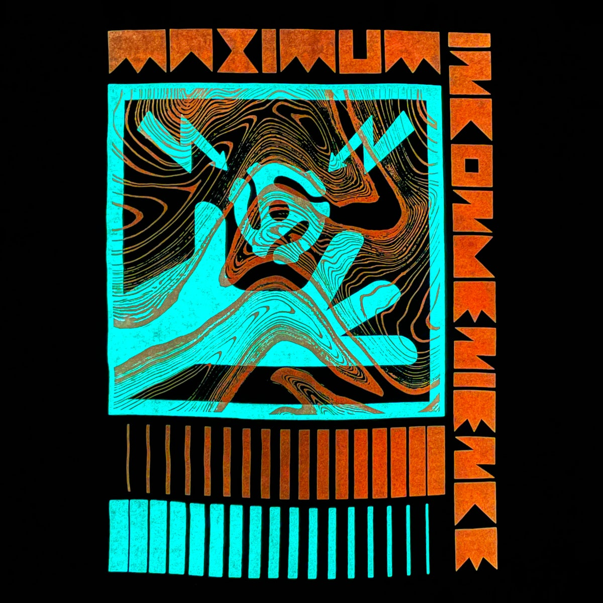 Image of Maximum Inconvenience Long Sleeve GLOW IN THE DARK T-Shirt