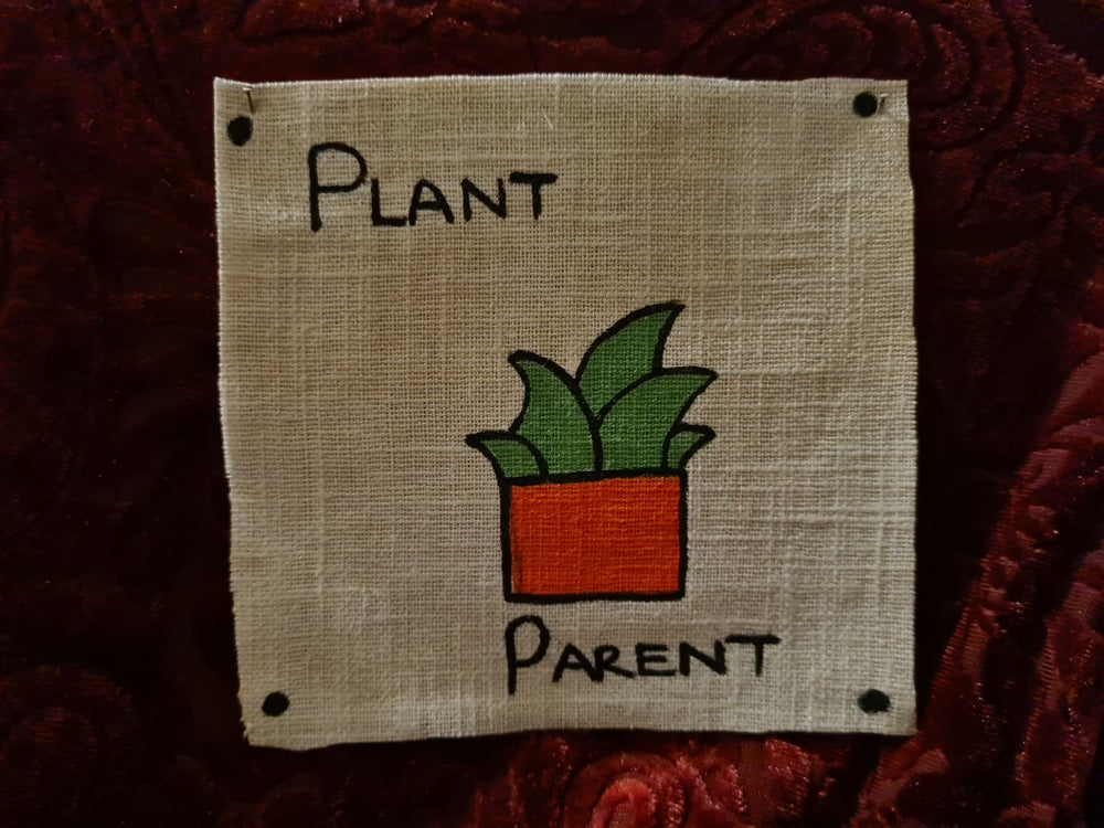 Image of Plant Parent Fabric Patch