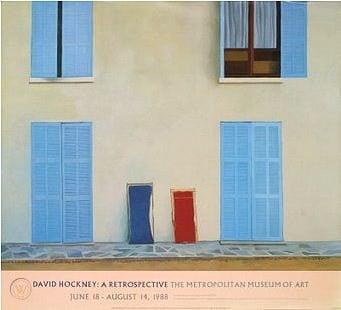 Image of david hockney poster / 21/876