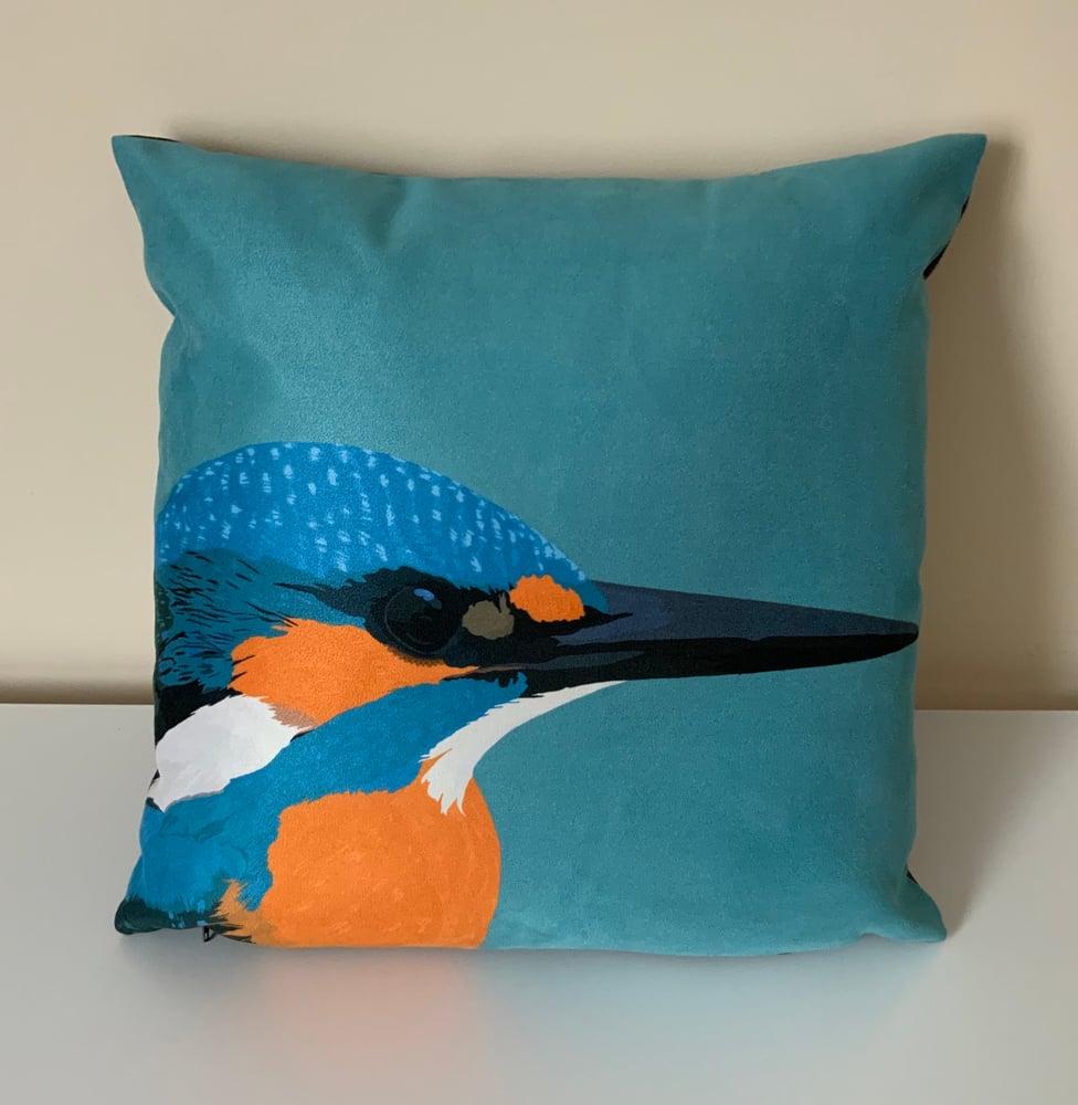 Image of Kingfisher Cushion