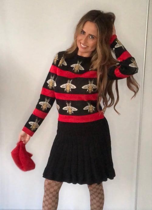 Image of Queen Bee Knitwear Set