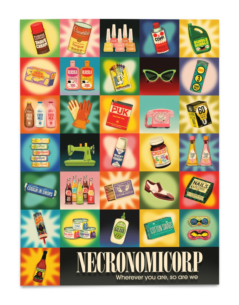 Image of NECRONOMICORP (Product Poster)