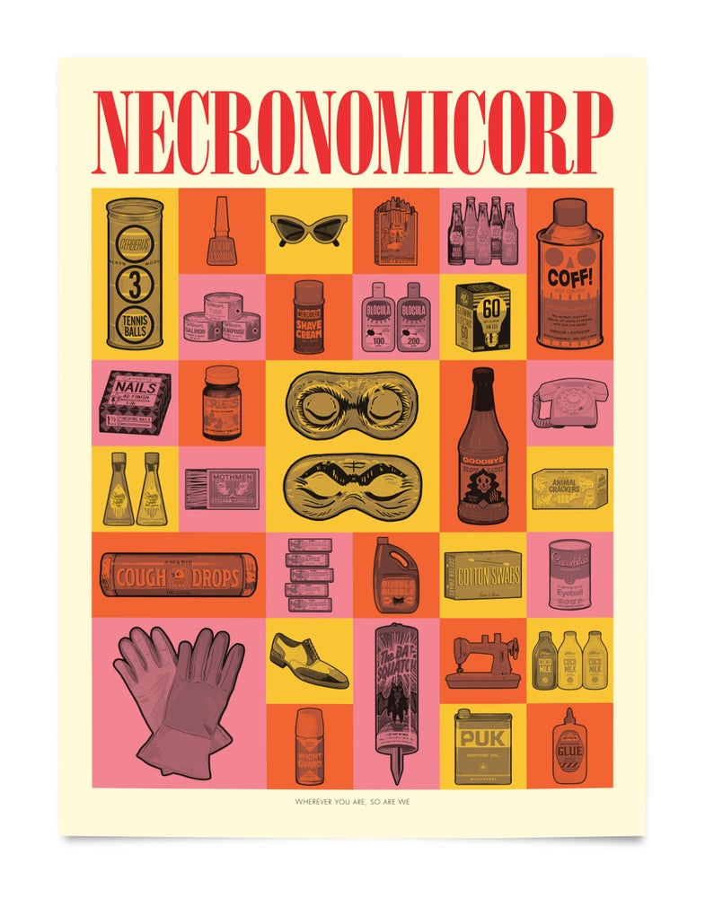 Image of NECRONOMICORP (Promo Poster)
