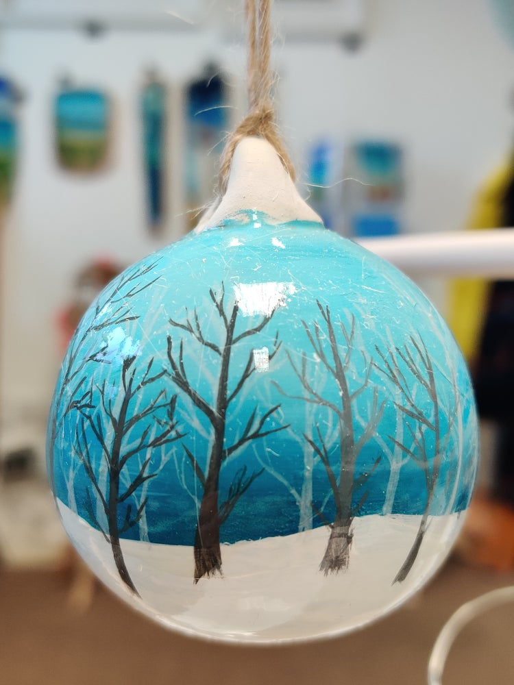 Image of Limited Edition Winter Forest Bauble