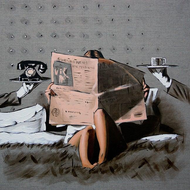 "Richard Blunt ""Run The World - Sketch"""