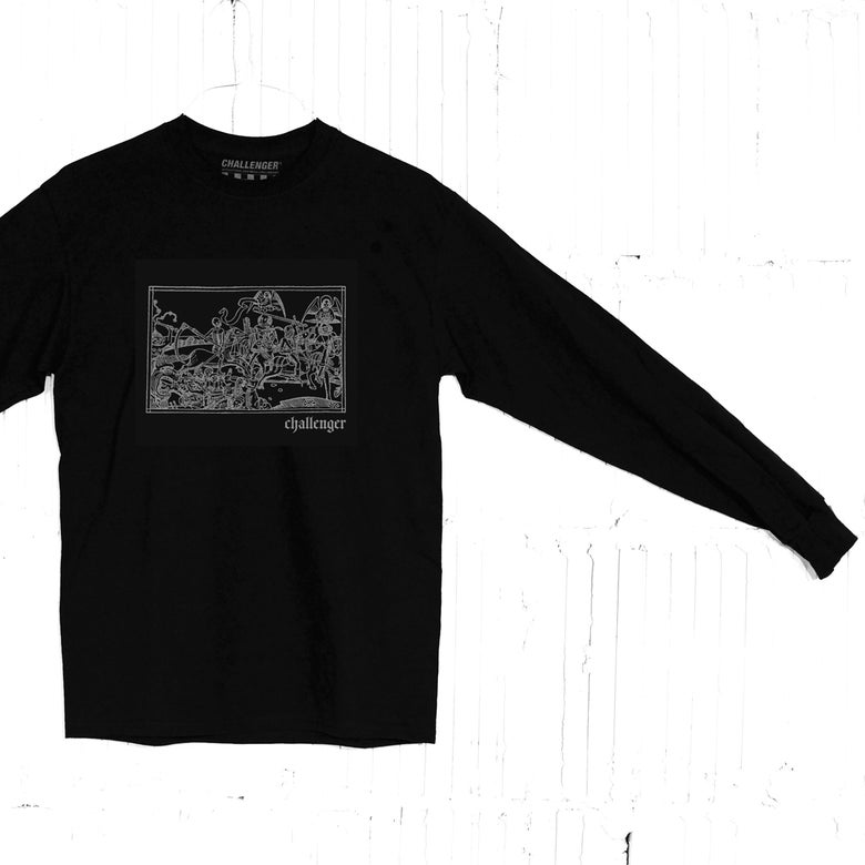 Image of 4 Horsemen Long Sleeve T-Shirt