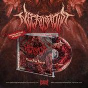 Image of NECROSADIST -DEAD ASS P*SSY CD