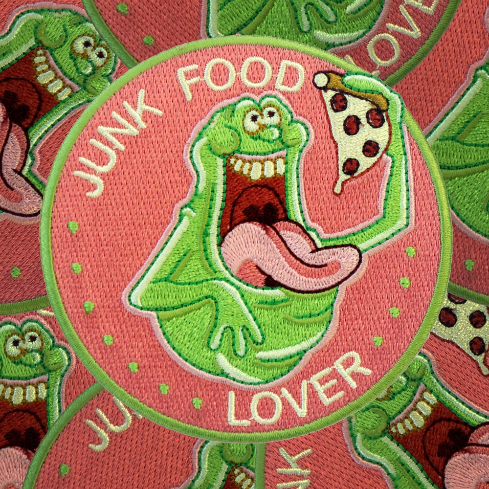 Image of Junk Food Lover patch
