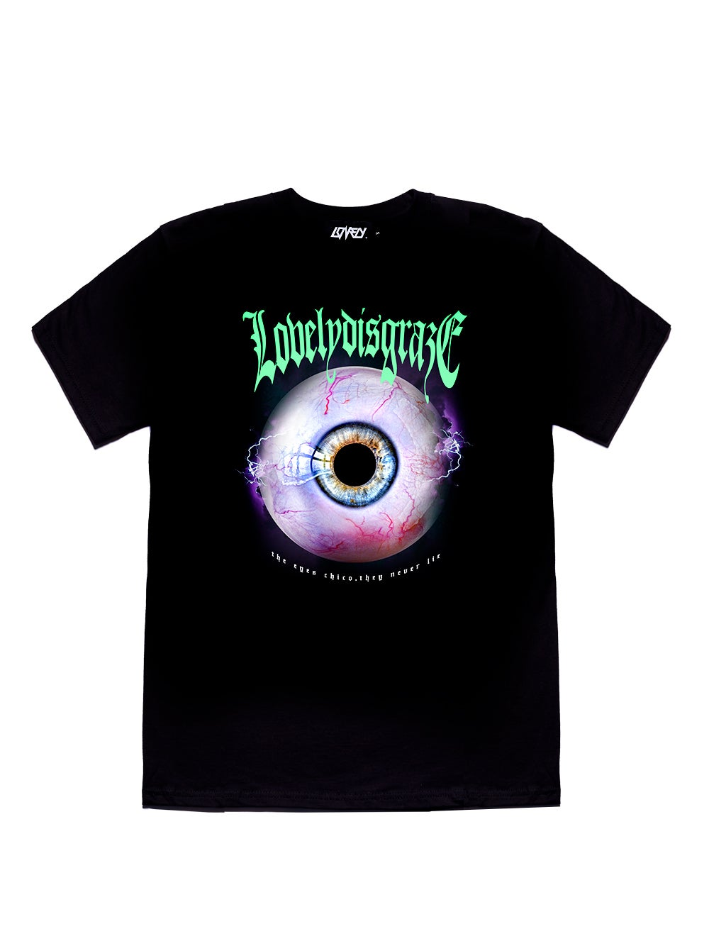Image of THE EYES CHICO, THEY NEVER LIE TEE