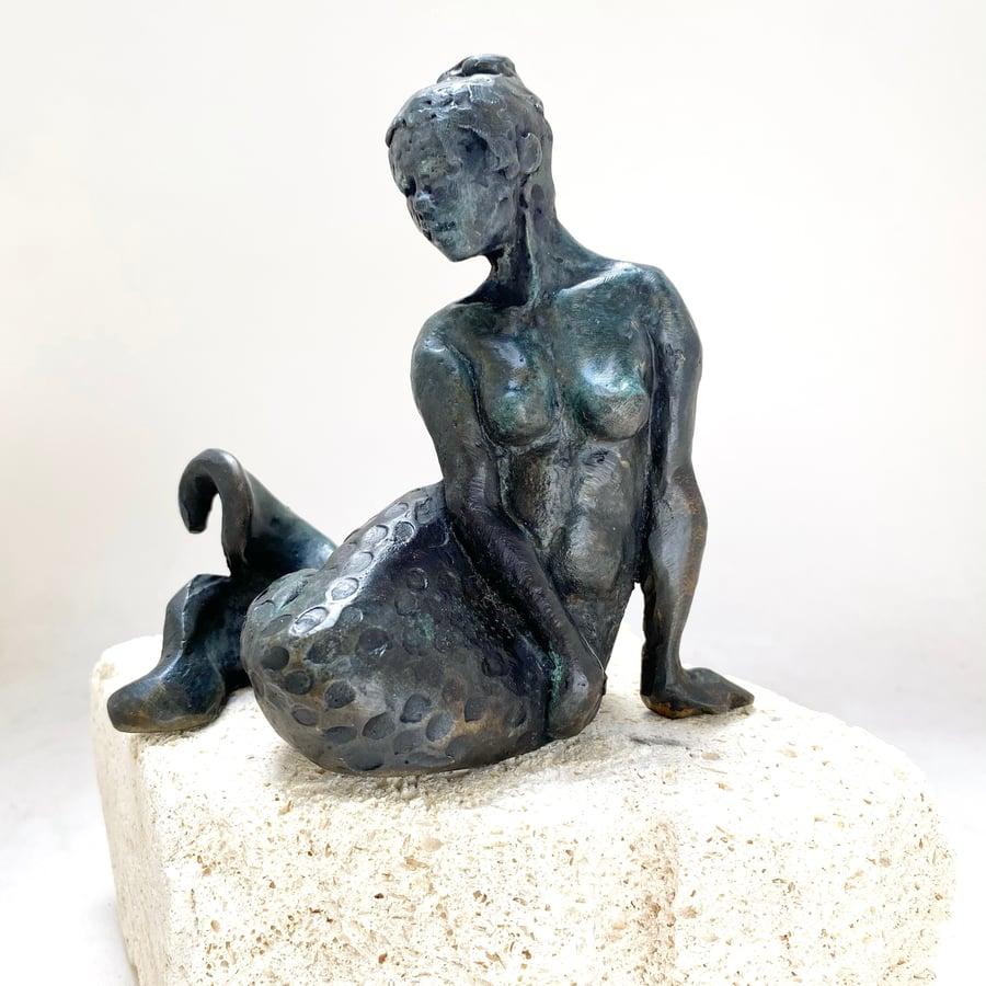 Image of Sitting Mermaid