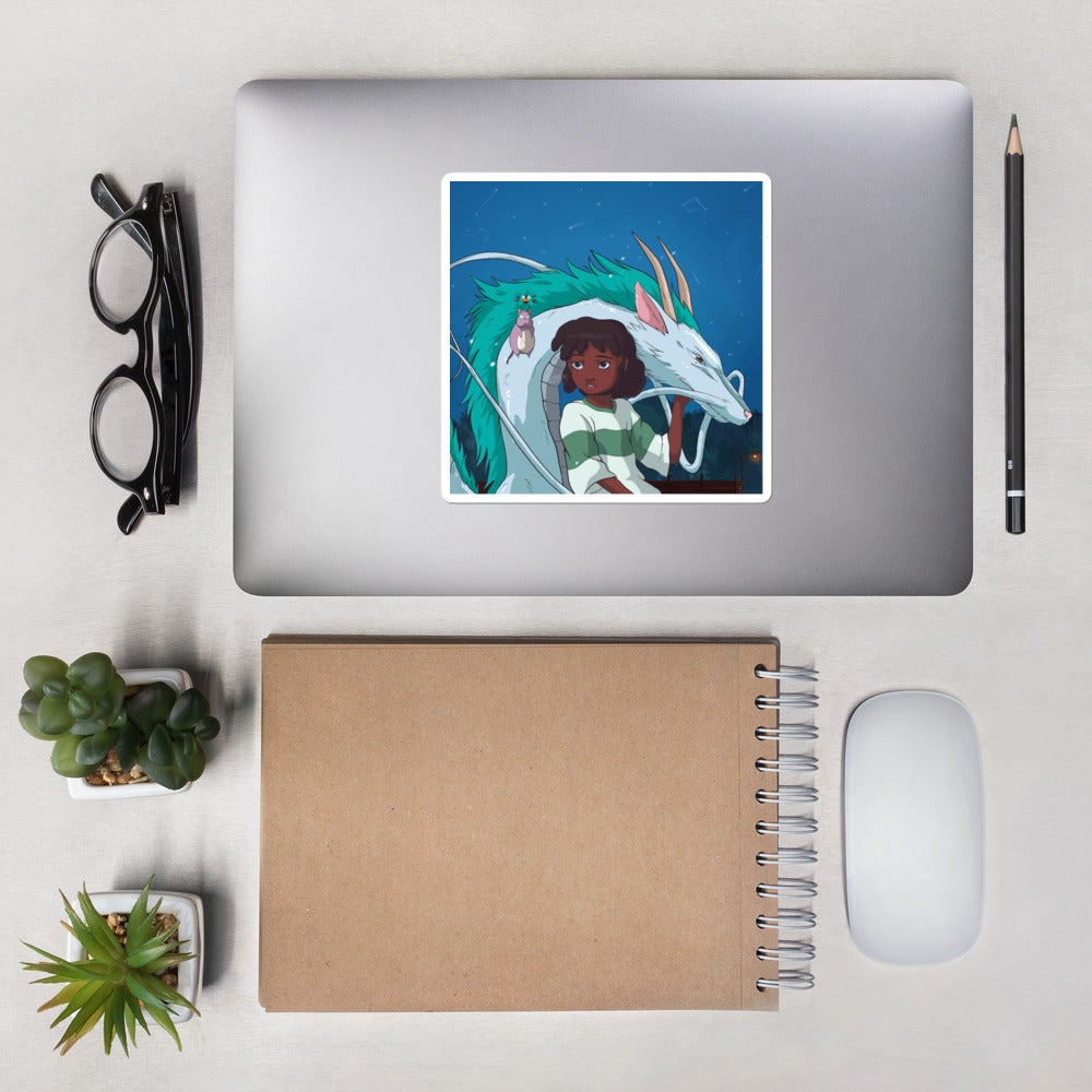 "Image of ""Spirited Away"" Sticker"