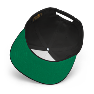 Image of Black Retro Draft Snapback (Red/Wht)