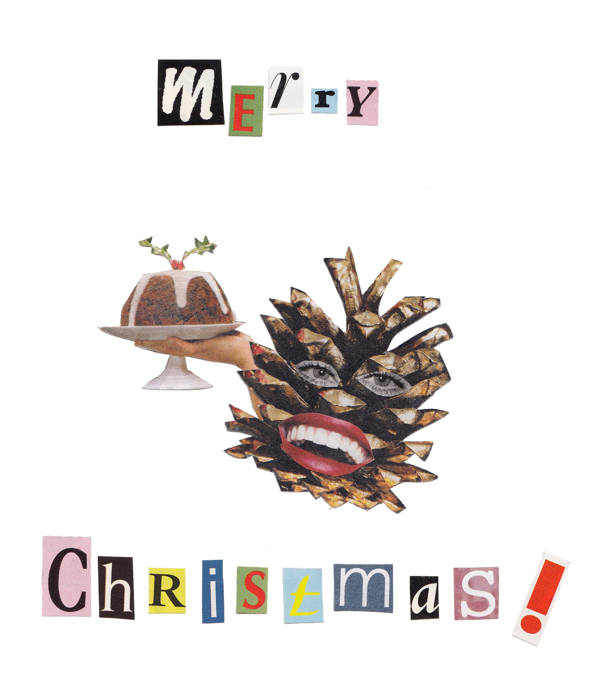 Image of Merry Pinecone Card