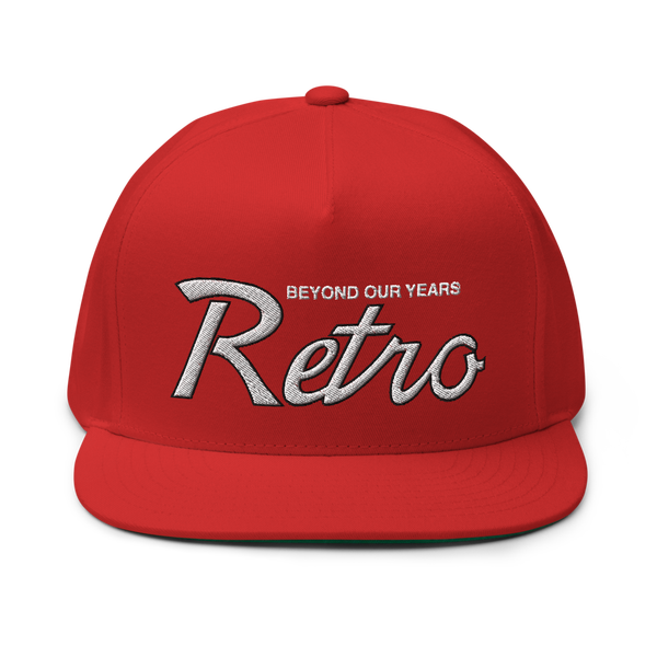 Image of Red Retro Draft Snapback (Wht/Blk)