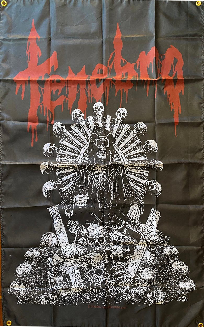 "Image of Tenebro "" Demo "" Flag / Banner / Tapestry"