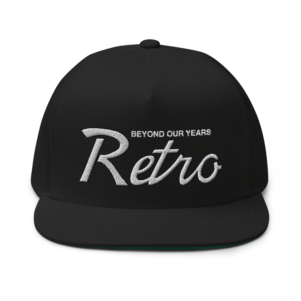 Image of Black Retro Draft Snapback (Wht/Blk)