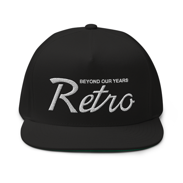 Image of Black Retro Draft Snapback (Wht/Blk)