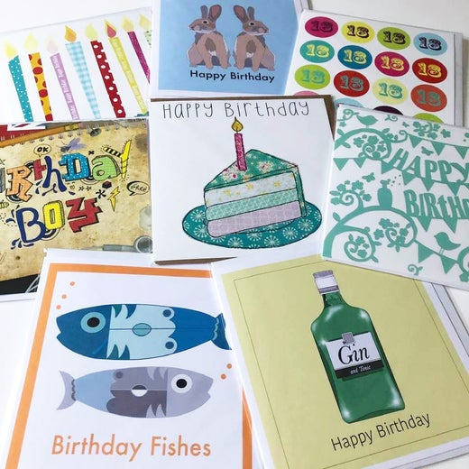 Greeting Cards - Birthday collection