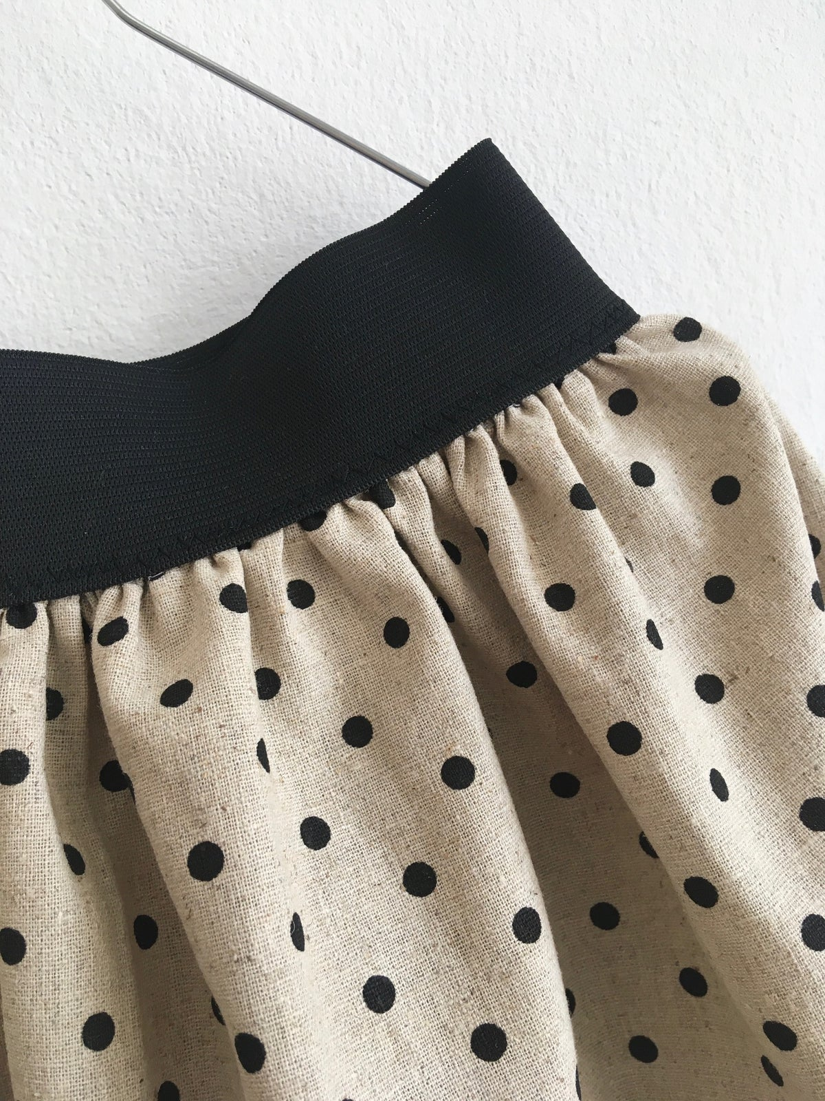 Linen Skirt- dotty