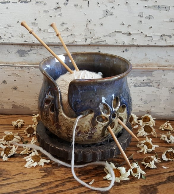 Image of Yarn Bowl for Your Wool: Wildflower Child