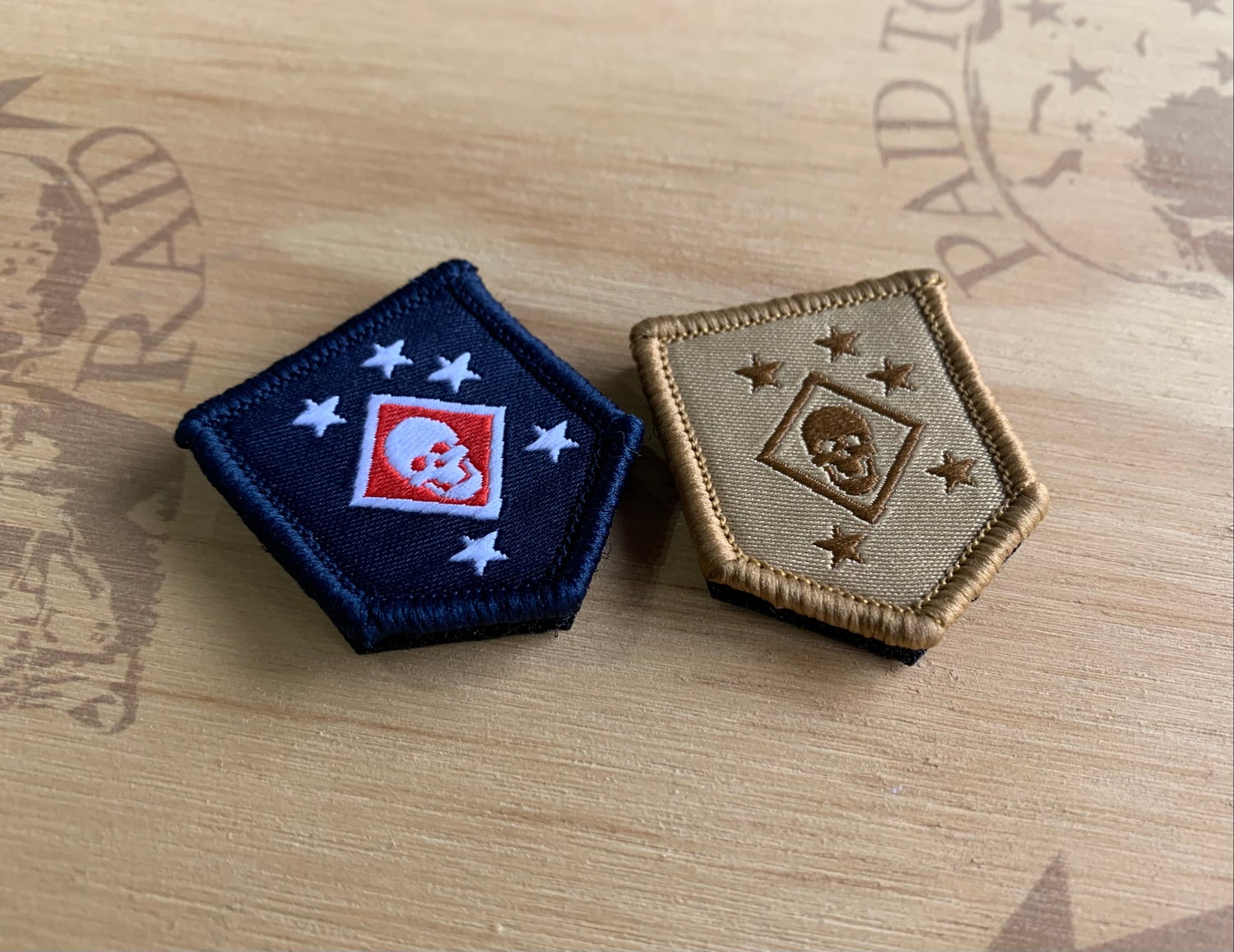 Image of Micro Woven Raider Patch