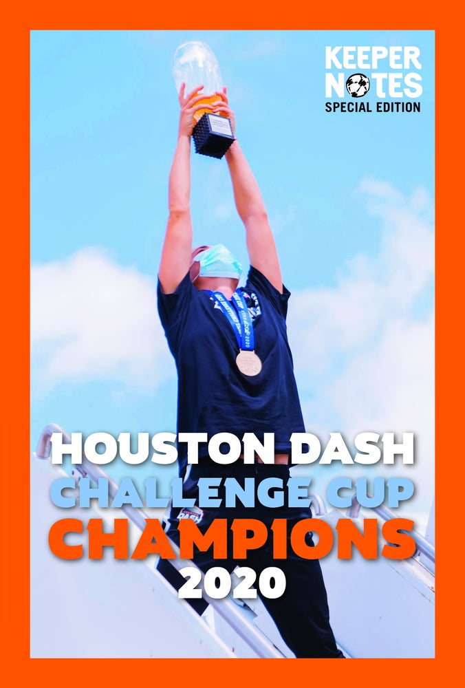 Image of Houston Dash 2020 CHALLENGE CUP special edition ALMANAC
