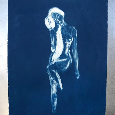 Image of Cyanotype ~ Nymph