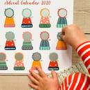 Image 2 of Bobble Hat Advent Calendar